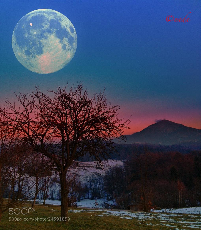 Photograph Full moon by Nada Leva on 500px
