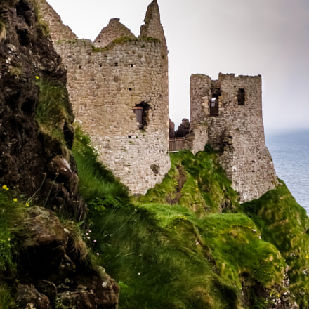 Dunluce Castle, Ireland, Canon POWERSHOT ELPH 110 HS
