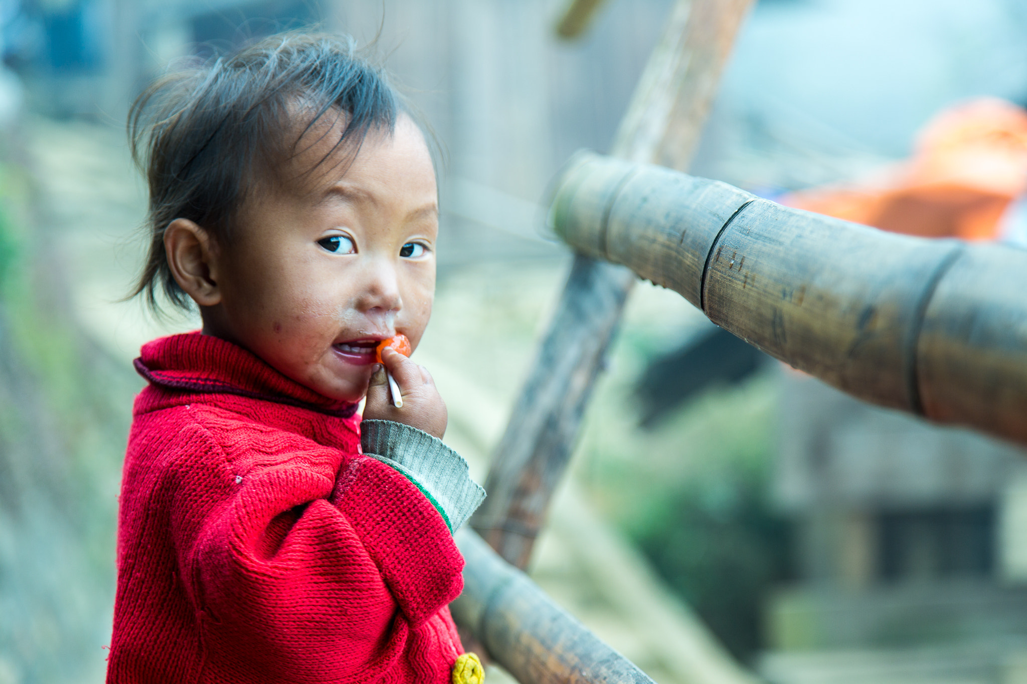Photograph Child With Candy by Aaron Von Hagen on 500px