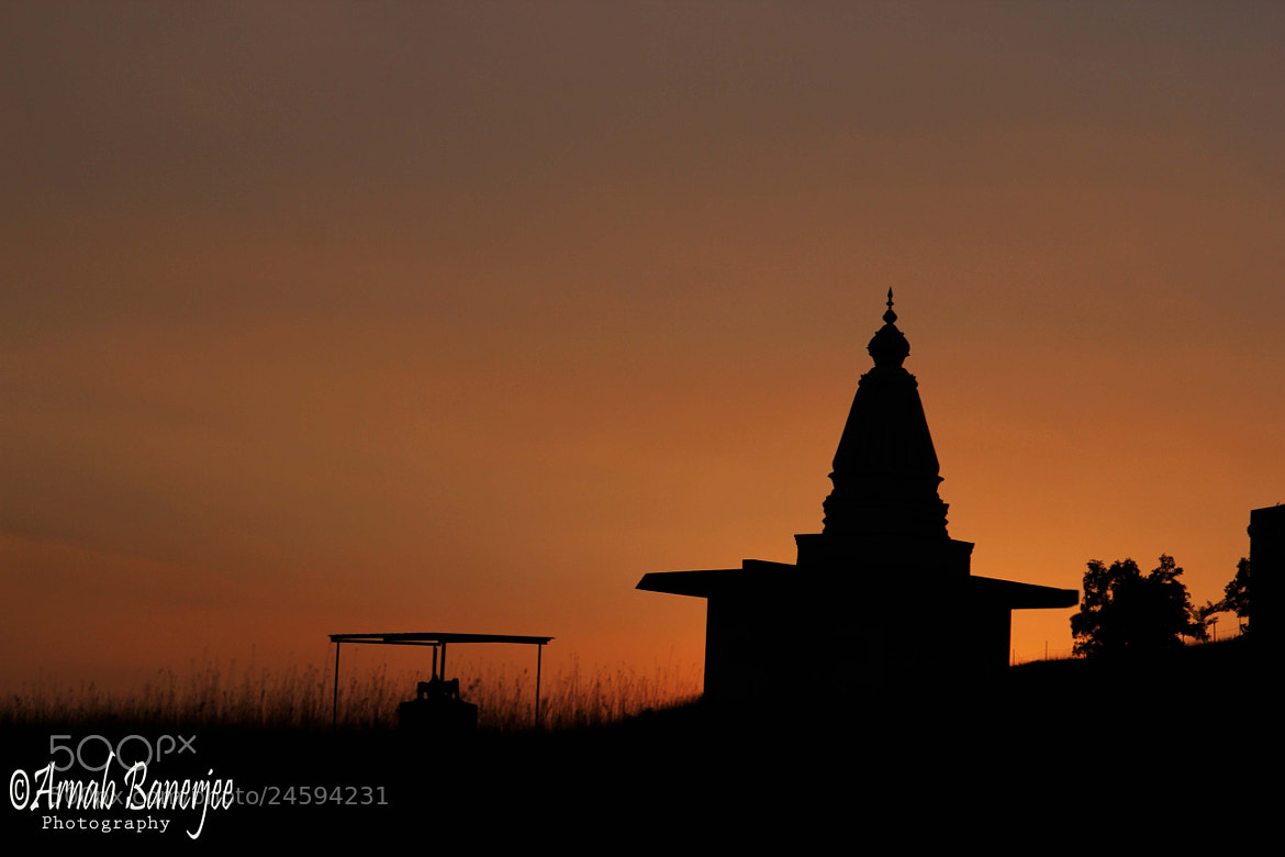 Photograph Silhouette of a Hindu Temple by Arnab Banerjee on 500px