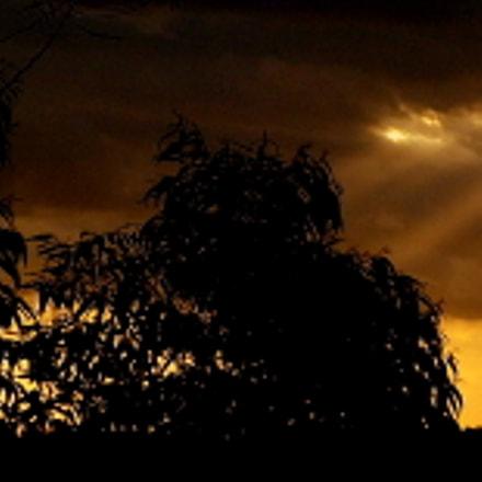 sunset ...., Fujifilm FinePix SL1000