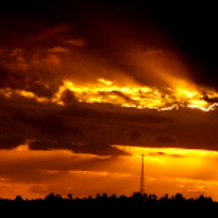 colors in the sunset ....., Fujifilm FinePix SL1000