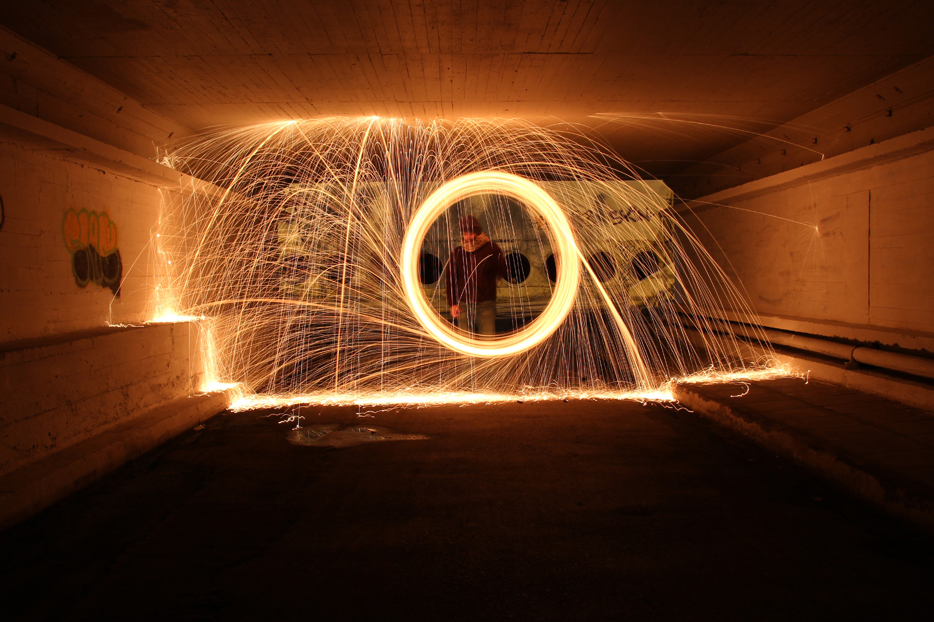 Photograph Spinning Fire 2 by Basil Mitropoulos on 500px