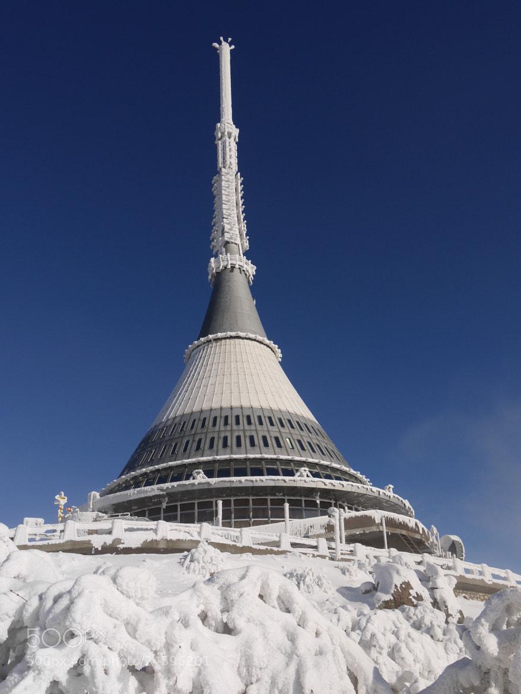 Photograph Ještěd tower by Petr Podroužek on 500px