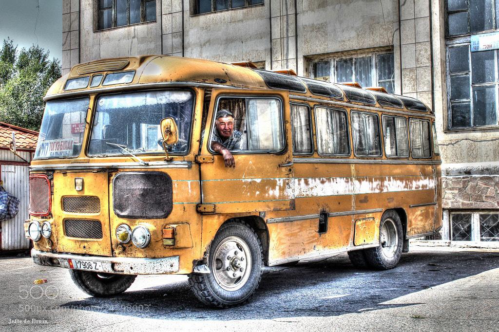 Photograph Bus Driver by Jefte De Bruin on 500px