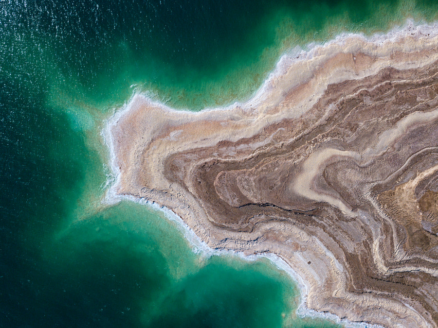 Dead sea from above by Ido Meirovich on 500px.com