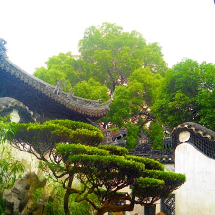 shanghai old town, Sony DSC-W510