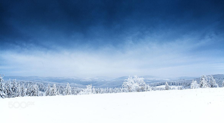 Photograph Winterlandschaft by Christian Fischer on 500px