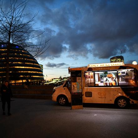 IceCream Truck at London, Nikon D850, AF-S Nikkor 24mm f/1.4G ED