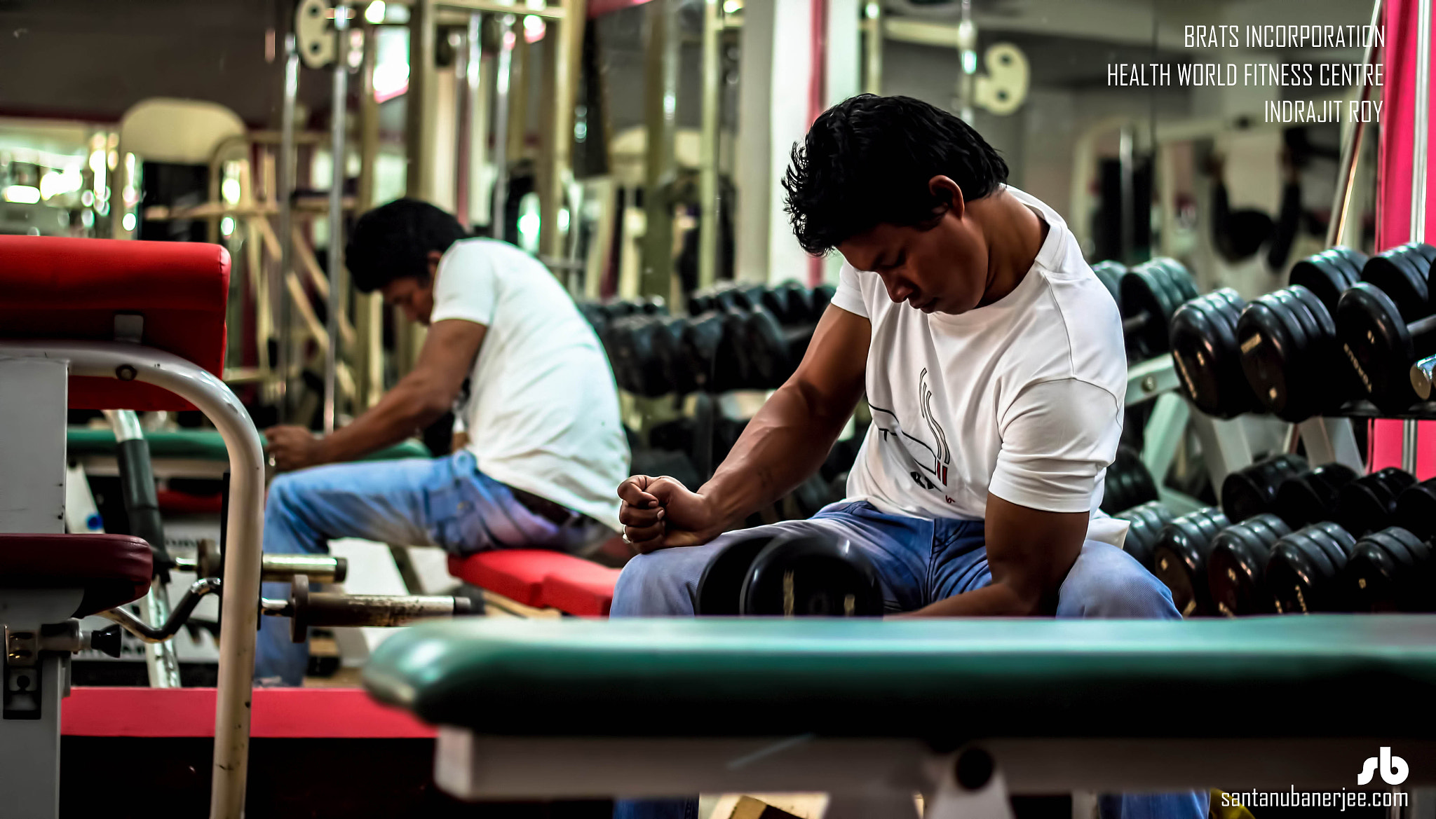 Photograph Workout @ Gym -- II by Santanu Banerjee on 500px