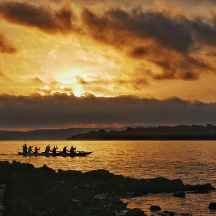 Early morning rowers, Panasonic DMC-TZ110