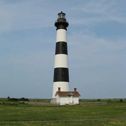 Bodie Island Lighthouse, Canon POWERSHOT A710 IS