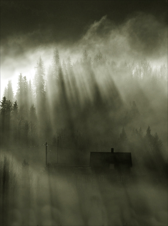 Photograph house in light and shadow by Fred Strømme on 500px