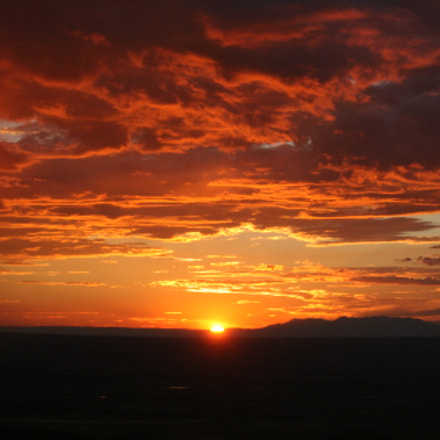Bears Ears Sunset, Canon EOS DIGITAL REBEL XTI, Canon EF-S 55-250mm f/4-5.6 IS