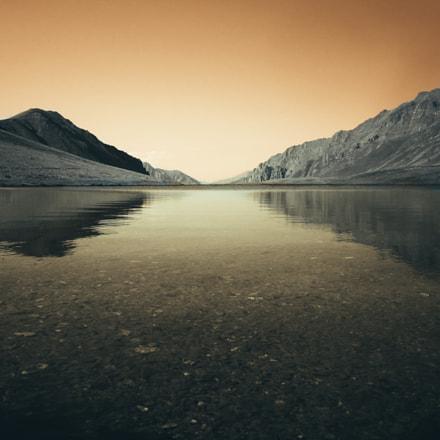 Black rock lake, Canon POWERSHOT A2200