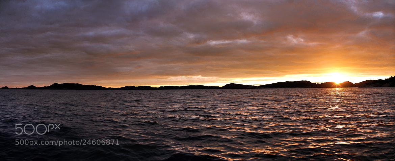 Photograph Norwegian Sunset by Henrik Herr on 500px
