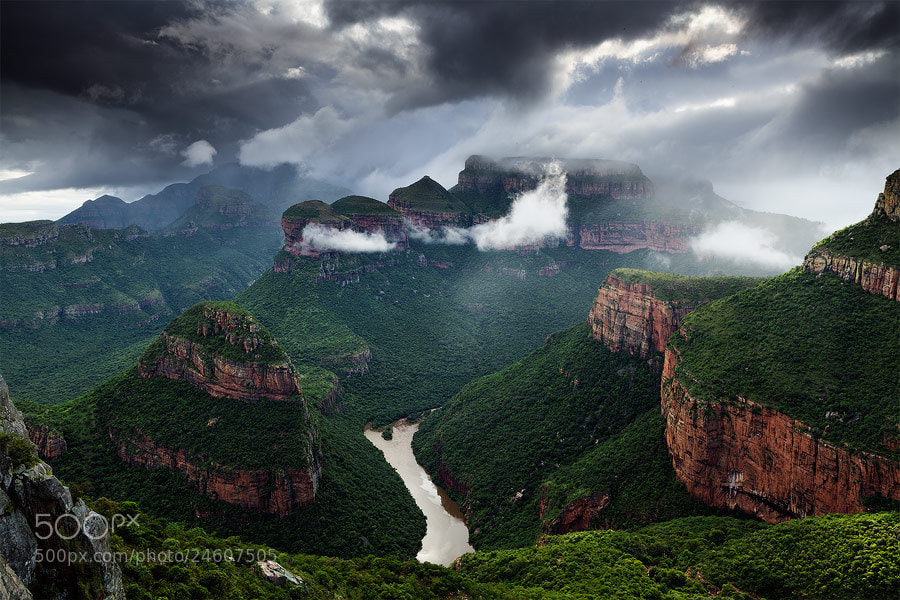 Photograph Storm in the Abyss by Hougaard Malan on 500px