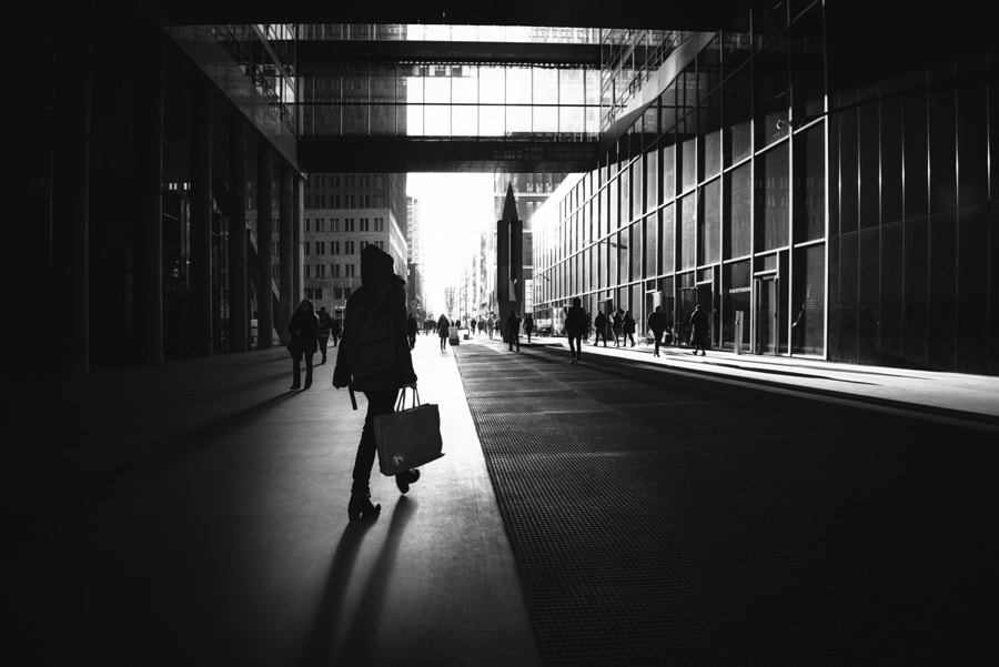 Shadows of the city by Christophe Staelens on 500px.com