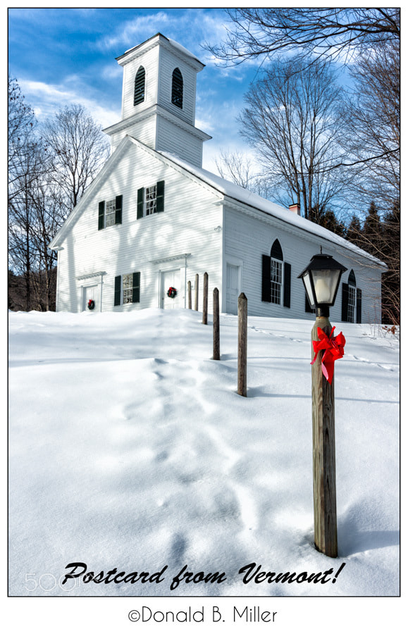 Photograph Postcard from Vermont! by Donald Miller on 500px