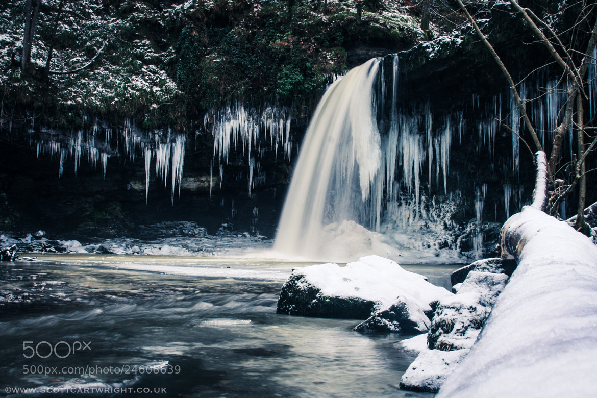 Photograph Frozen Falls by Scott Cartwright on 500px