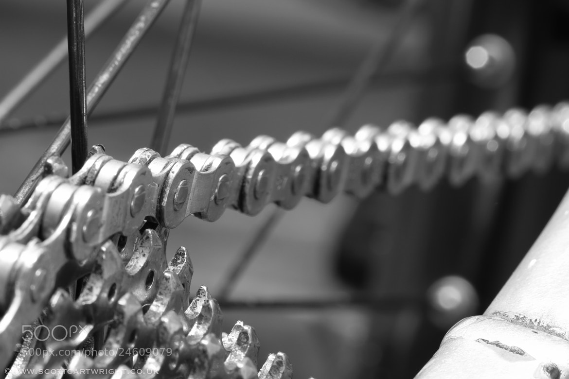 Photograph Bike Chain by Scott Cartwright on 500px