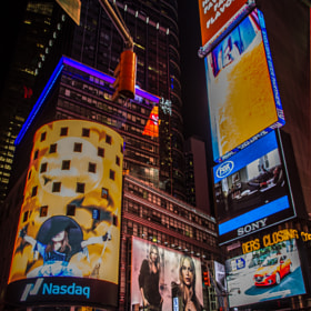 Broadway Night Scene