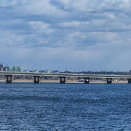 Bridge across Volga river, Fujifilm FinePix S3Pro