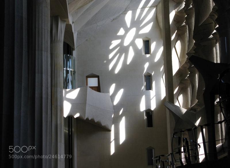 Photograph Sunlight in Sagrada Familia by David Cuffe on 500px