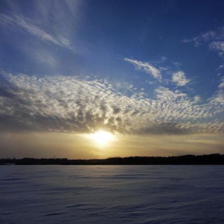 WINTER SKY, Sony DSC-HX5V