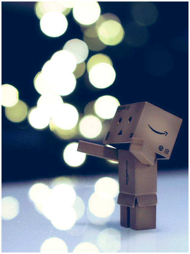 Photograph Danbo catching bubbles by Fredrik Strømme on 500px