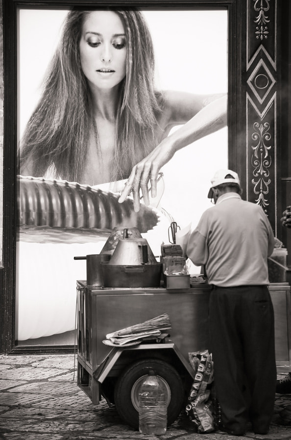 Photograph Advertisement stealing chestnuts by Vasco Casquilho on 500px