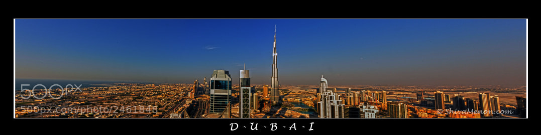 Photograph Dubai Panorama by Shiva Menon on 500px