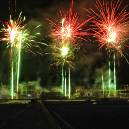 firework, Canon IXUS 140