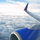 27,000 feet in the air between Burbank and Las Vegas.