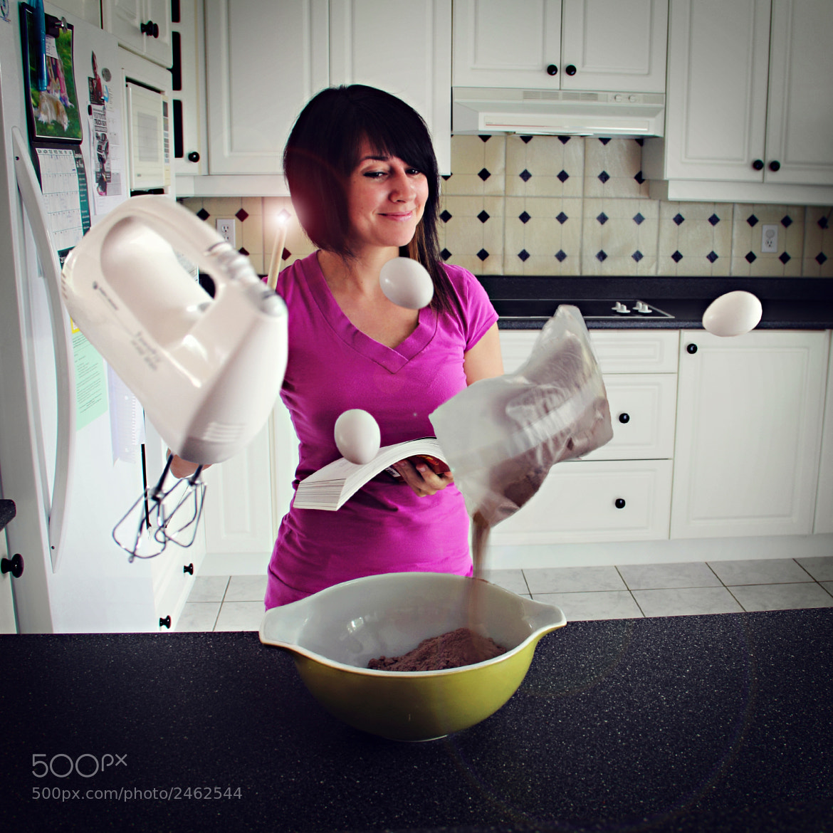 Photograph Making of the Birthday Cupcakes by Beth Duri on 500px