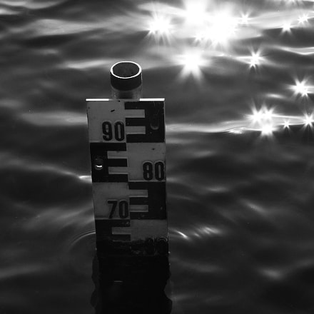 water level, Canon EOS 40D, Canon EF 55-200mm f/4.5-5.6 II USM