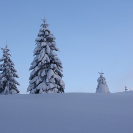 Winter in Tatry, Canon EOS 1000D, Sigma 18-50mm f/3.5-5.6 DC