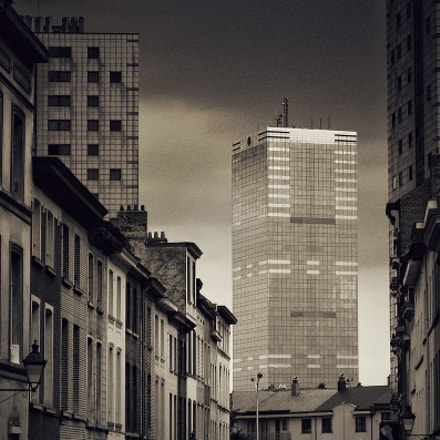 Brussels Tower, Canon POWERSHOT S50
