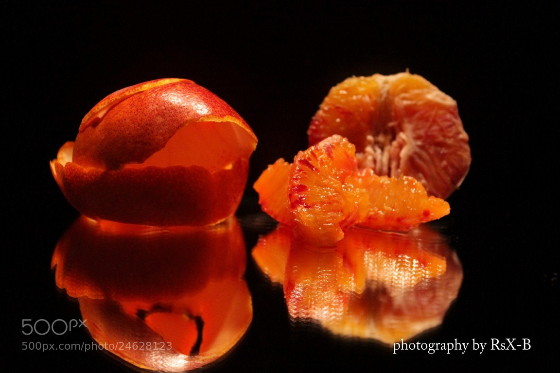 Photograph Orange Sanguine by Benjamin Rousseaux on 500px