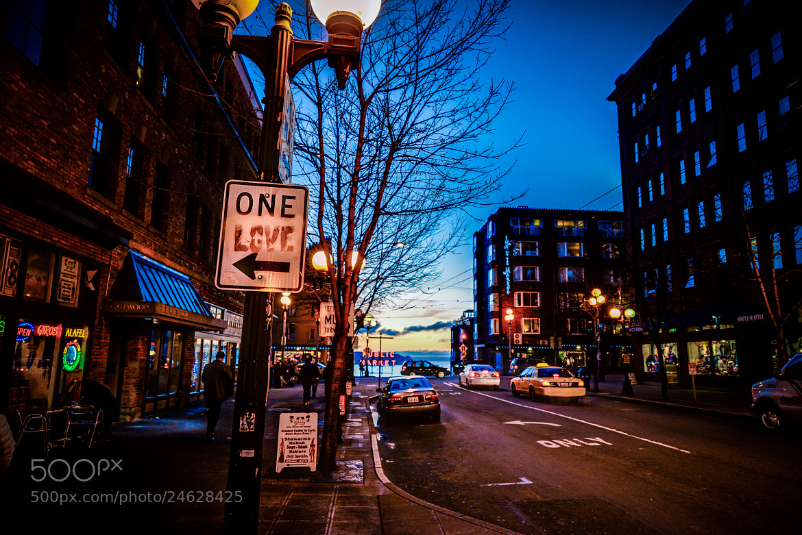 Photograph One Love | Seattle by Colin Bishop on 500px