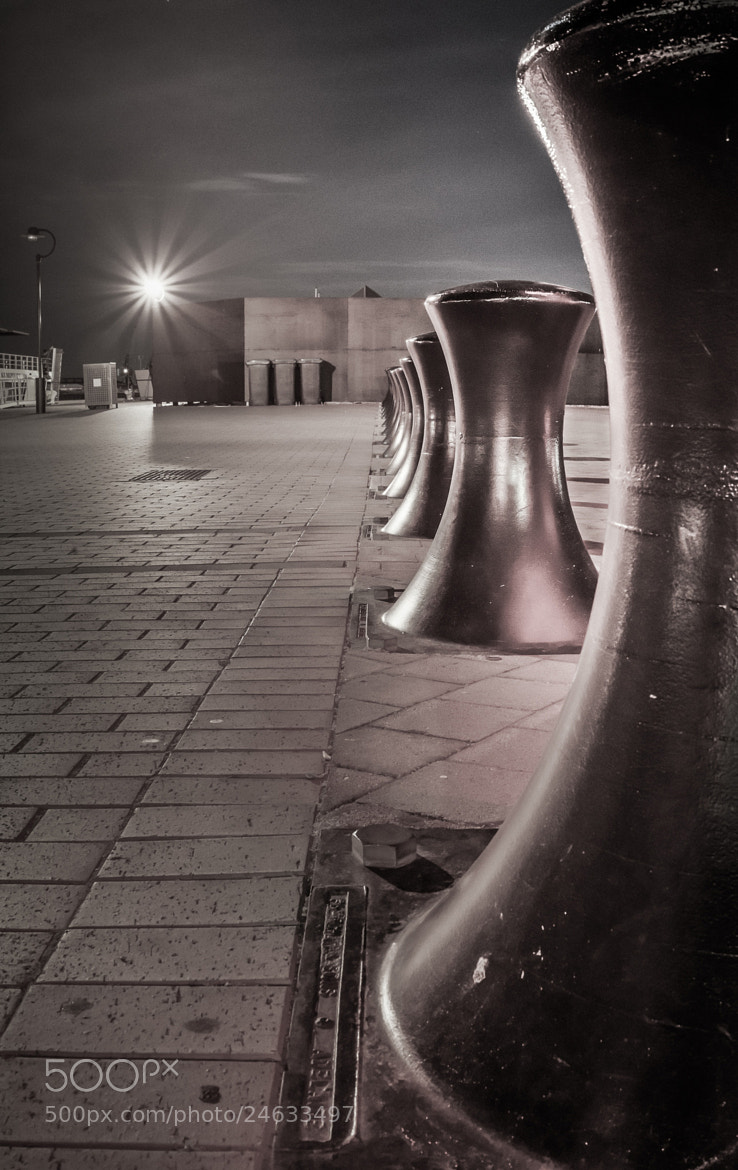 Photograph Day 396, Bollard Sentinels by Robert Rath on 500px