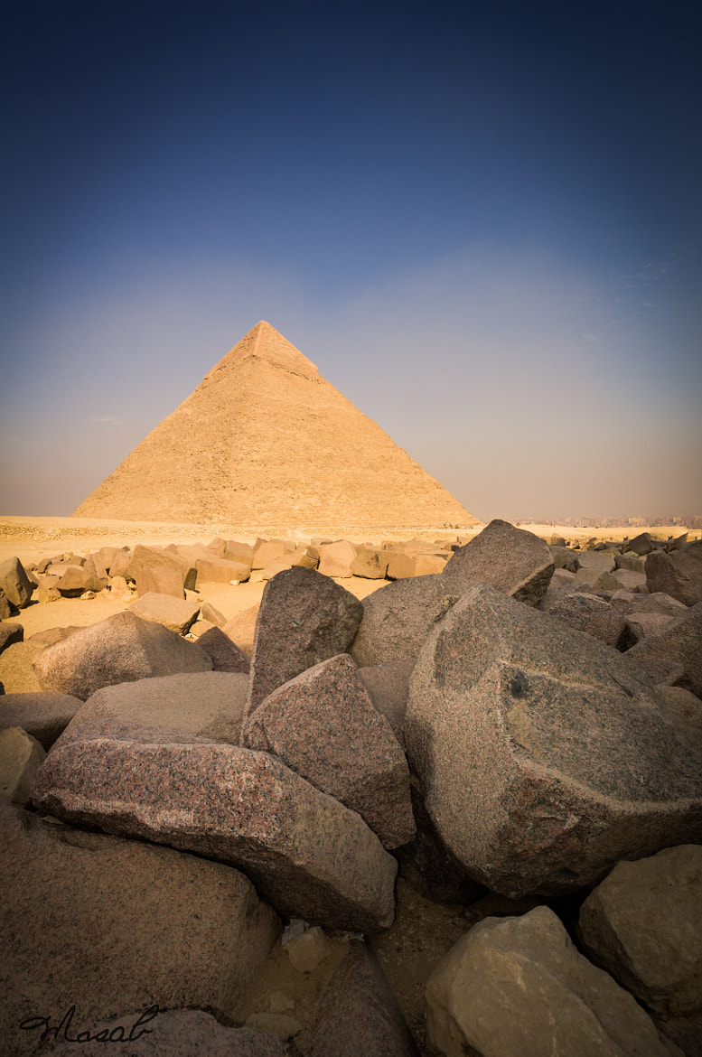 Photograph Pyramid of Khafre by Mosab Al Sobhi on 500px