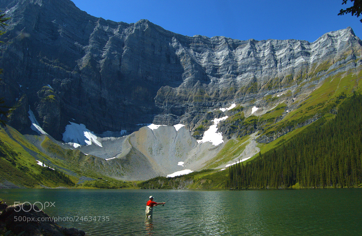Photograph Fishing At Rawson Lake by Neil Young on 500px