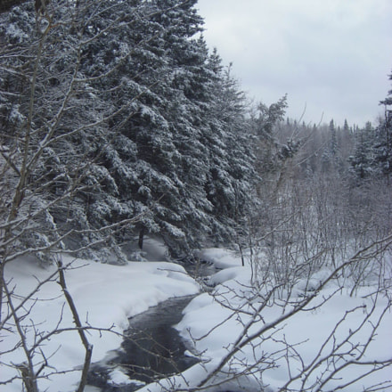 Snow Covered Country, Nikon COOLPIX L2