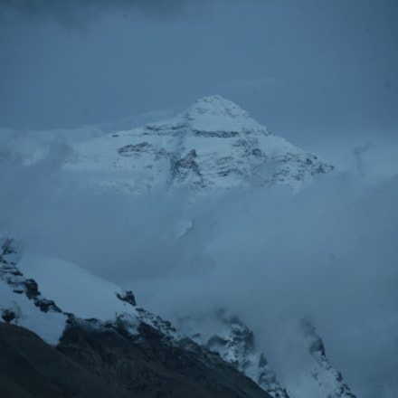 Everest ere Nightfall, Canon EOS 5D, Canon EF 28-300mm f/3.5-5.6L IS