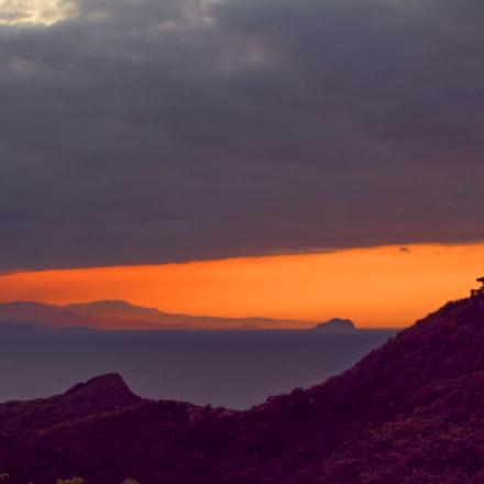 Dusk in NE coast, Canon EOS 60D, Sigma 18-250mm f/3.5-6.3 DC OS HSM