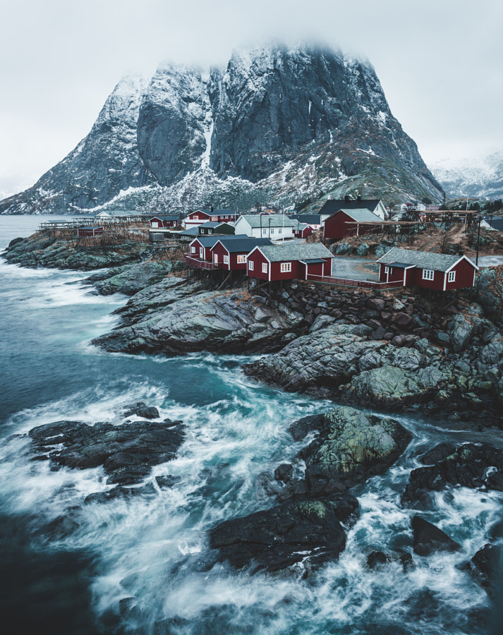 The beauitful village Hambøy, Lofoten by Christian Trustrup on 500px.com