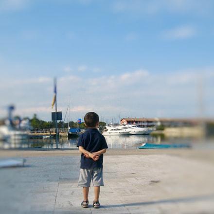 Little boy, Canon DIGITAL IXUS 850 IS