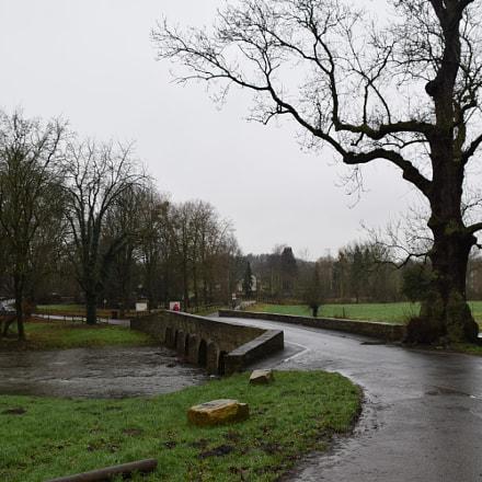 Alte Brücke an der Alme nahe Wewelsburg