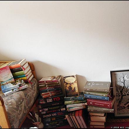 books, Sony DSC-W5